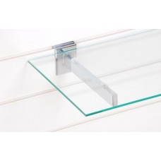 300mm x 1200mm x 6mm Glass Shelf And Brackets