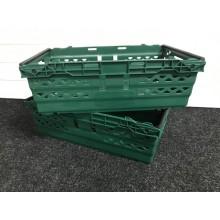 Fruit & Veg 35 Litre Green Supermarket Tray Crate