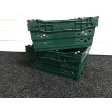 Fruit & Veg 15 Litre Green Supermarket Tray Crate