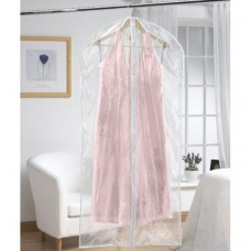 Pack of 2 Dress Covers Clear Zip