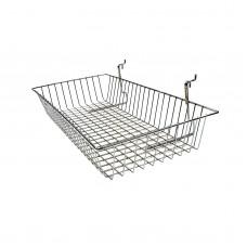 300 x 600mm Basket For Slatwall & Gridwall