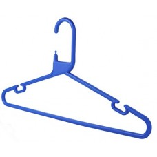 Adult Plastic Blue Hangers Box 120