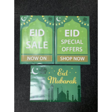 Set of 3 Eid Posters
