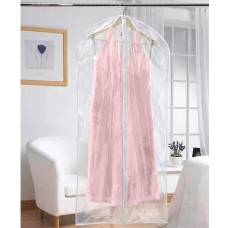 Pack of 2 Extra Long Dress Covers Clear