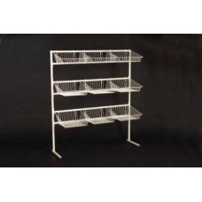9 Basket Display Basket Unit