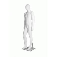 Male Egg-Head Right Leg Forward Mannequin