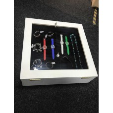 Jewellery Display Box Counter Top Presentation Lockable