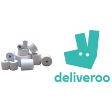Deliveroo 57mm x 80mm x 12mm Thermal Rolls