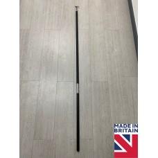 Tall 175cm Sash Window Black Wooden Pole Hook