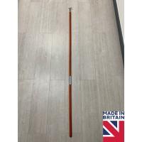 Tall 175cm Sash Window Mahogany Wooden Pole Hook