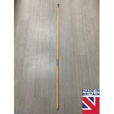 Tall 175cm Sash Window Natural Wooden Pole Hook