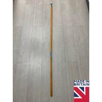 Tall 175cm Sash Window Oak Wooden Pole Hook