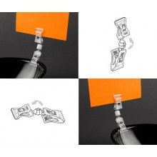 Clip On Sign Clip - Double x 10