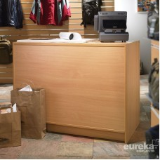 Cash and Wrap Counter