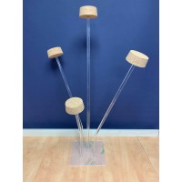 Acrylic Four Arm Hat Stand
