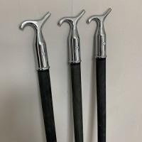 Sash Window Black Wooden Pole Hook