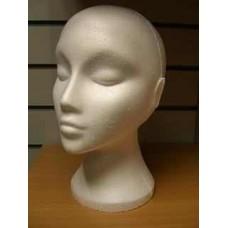 Female Polystyrene Head