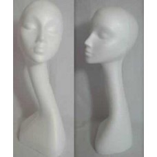 Female Swan Neck Polystyrene Head