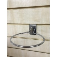 Slatwall Chrome Football Holder Ring Hook - Used