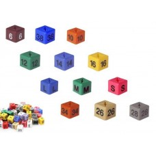 Size Cube Markers. Bag Of 50