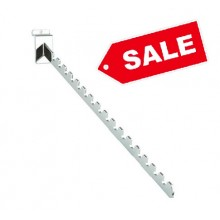 16 Notched Sloping Slatwall Arm