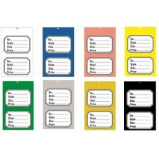 Perforated Stock Control Tickets