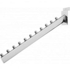 11 Ball Sloping Slatwall Arm