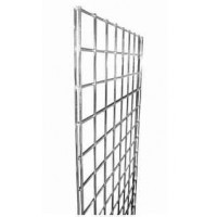 Gridwall Mesh Chrome Panels - BOX OF 3 - 7ft, 8ft