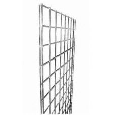 Gridwall Mesh Chrome Panels - 4ft, 5ft, 6ft