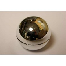 Chrome Plastic Ball Top