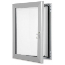 Silver Secure Lockable Frame