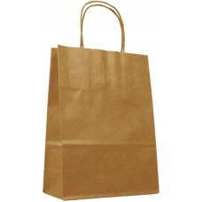 Twisted Handle Brown Paper Bags