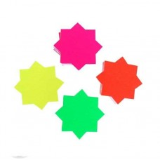 Medium Dayglo Stars