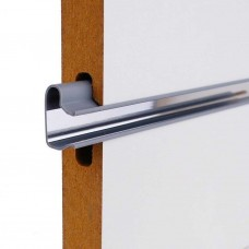 Slatwall PVC Inserts With Mirror Backing